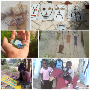 Activités Pour Les Enfants: Balade et Bricolage, Popenguine
