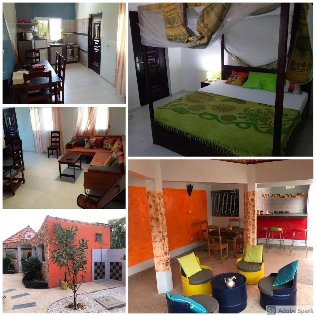 L'Hébergement | Maison privée | Chambres Climatisés | Popenguine