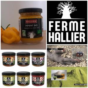 Piments par la ferme Hallier - Popenguine